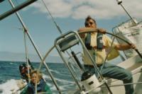 Yacht Charter Kanaren - Topspeed - Auf Halbwindkurs bei 4-5 Bft schaffen wir 11,4 Knoten