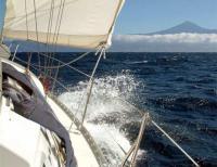 Yachtcharter Kanaren: Alles überragend - Der Pico de Teide von Gomera aus gesehen
