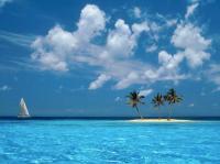 Charter Karibik: Manche Inseln bestehen tatsächlich nur aus Sand und drei Palmen