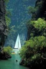 Charter Thailand: Hongs - Natürliche Lagunen zwischen steilen Felsen