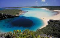 Charter Bahamas: Oft sind die Inseln durch flaches Wasser und eine Sandbank verbunden