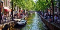 Charter IJsselmeer: Kanäle statt Straßen - Amsterdam ist von Wasserwegen durchzogen